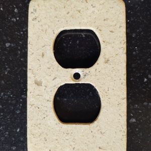 Travertine Switch Plate Cover